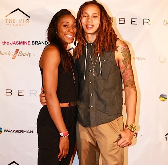 WNBA Baller Brittney Griner & Fiancée Locked Up After Alleged Brawl [Thug Life]
