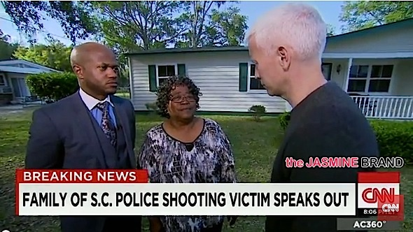 Walter Scott Mother Forgives Officer That Shot Her Unarmed Son-the jasmine brand