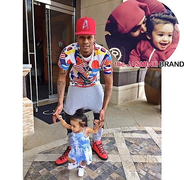 Chris Brown's Daughter Royalty Torn Between Two Fathers? [Photos]