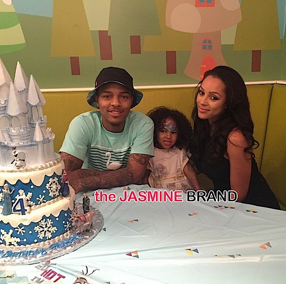 Bow Wow, Joie & their daughter circa 2015