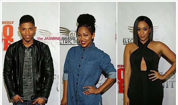 'Brotherly Love' LA Premiere: KeKe Palmer, Quincy, Cory Hardrict, Diddy, Jamie Foxx, Meagan Good [Photos]