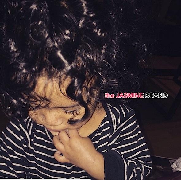 celebrity babies-chris brown daughter royalty-the jasmine brand