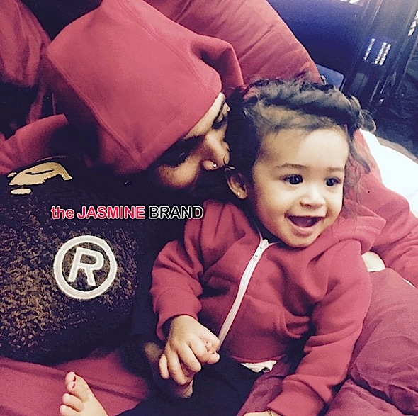 Chris Brown Officially Introduces Daughter, Royalty [Photo]