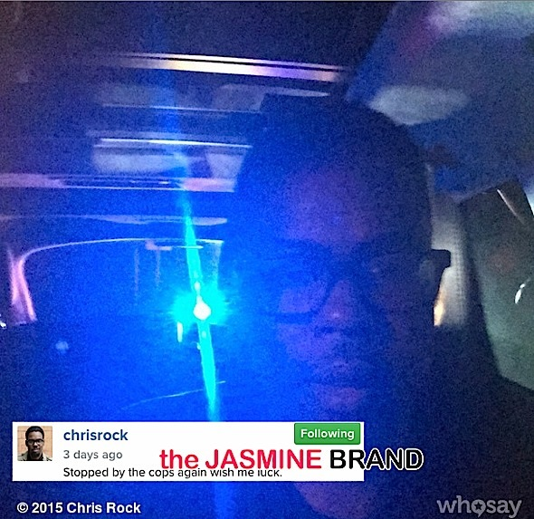 chris rock-pulled over by police-the jasmine brand