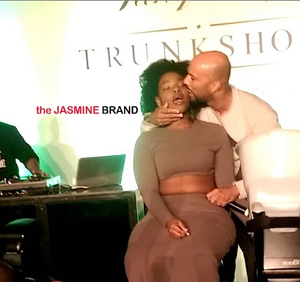Get a Room! Common Kisses Fan On Stage [Instagram Video of the Day]