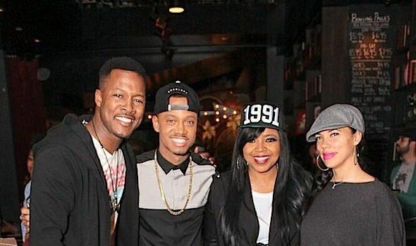 Chris Brown, LaLa Anthony, Michael B Jordan, Lance Gross Celebrate Terrence J's Birthday [Photos]