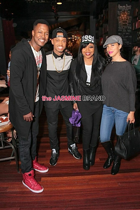 Flex, Terrence J, Shaniece, Shamicka Lawrence