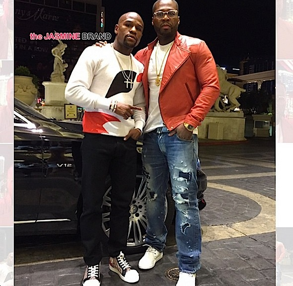 (EXCLUSIVE) 50 Cent Blames Floyd Mayweather's Jail Sentence For His Boxing Company Failing