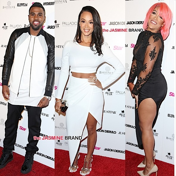 Jason Derulo Hosts Listening Party Draya Michele Natalie Nunn