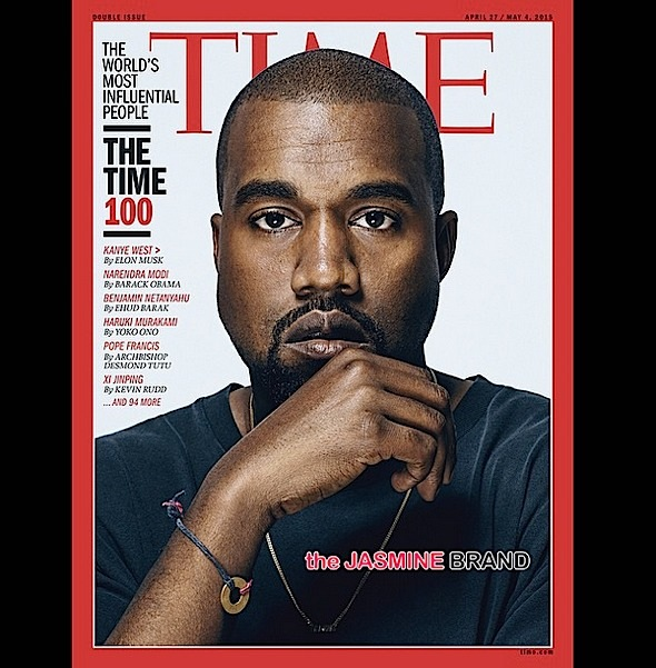 Kanye's TIME Cover