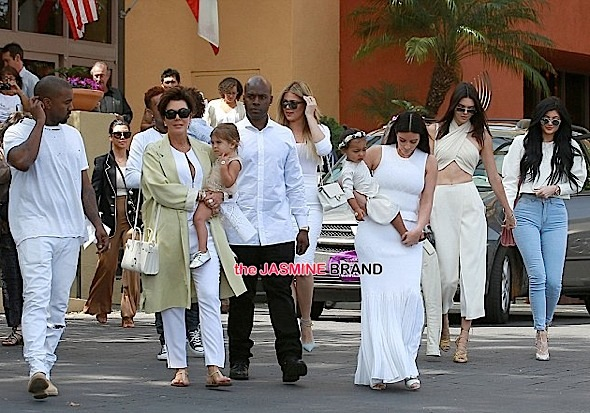 kardashian-jenner-easter sunday-the jasmine brand