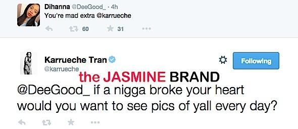 karrueche tran-tweets stop posting photos with chris brown-the jasmine brand