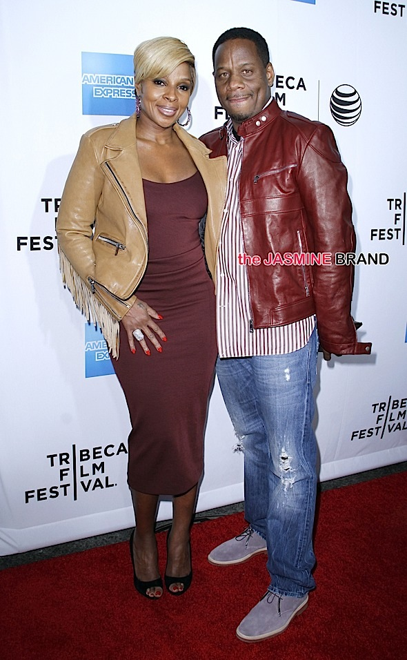 "2015 Tribeca Film Festival - World Premiere Documentary: ""Mary J. Blige: The London Sessions"" - Arrivals"