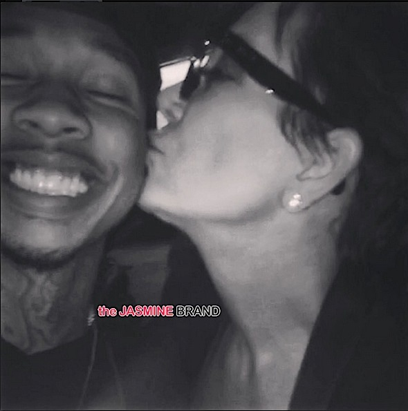 kylie jenner-kisses tyga-the jasmine brand