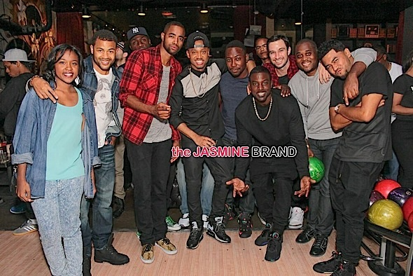 lance gross-travis bond-terrence j-bowling birthday party-the jasmine brand