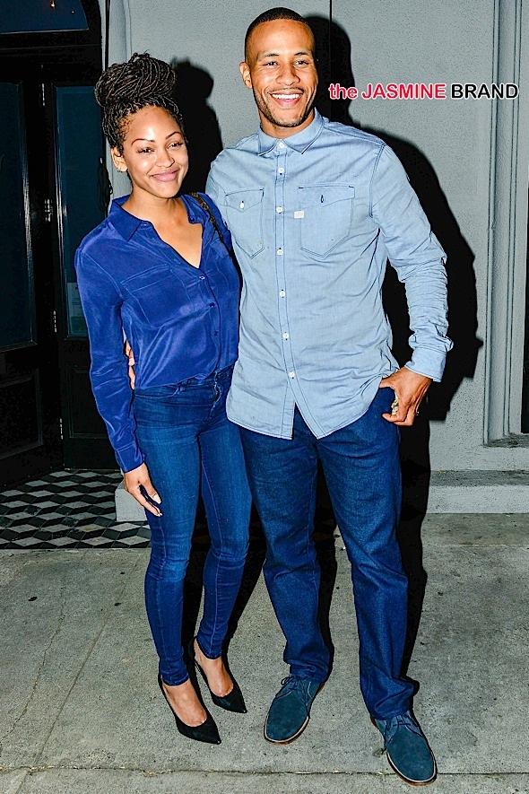 INF - Meagan Good & Boyfriend DeVon Franklin on Dinner Date