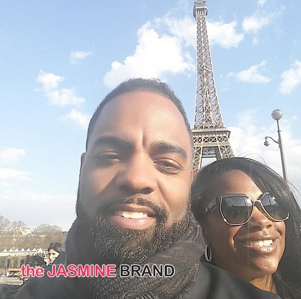 RHOA's Kandi Burruss & Todd Tucker Celebrate One Year Anniversary in Paris! [Photos]