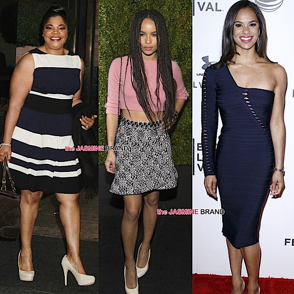 Celebrity Stalking: Mo'Nique, Joan Smalls, Tiffney Cambridge, Zoe Kravitz, Misty Copeland, Victoria Rowell [Photos]