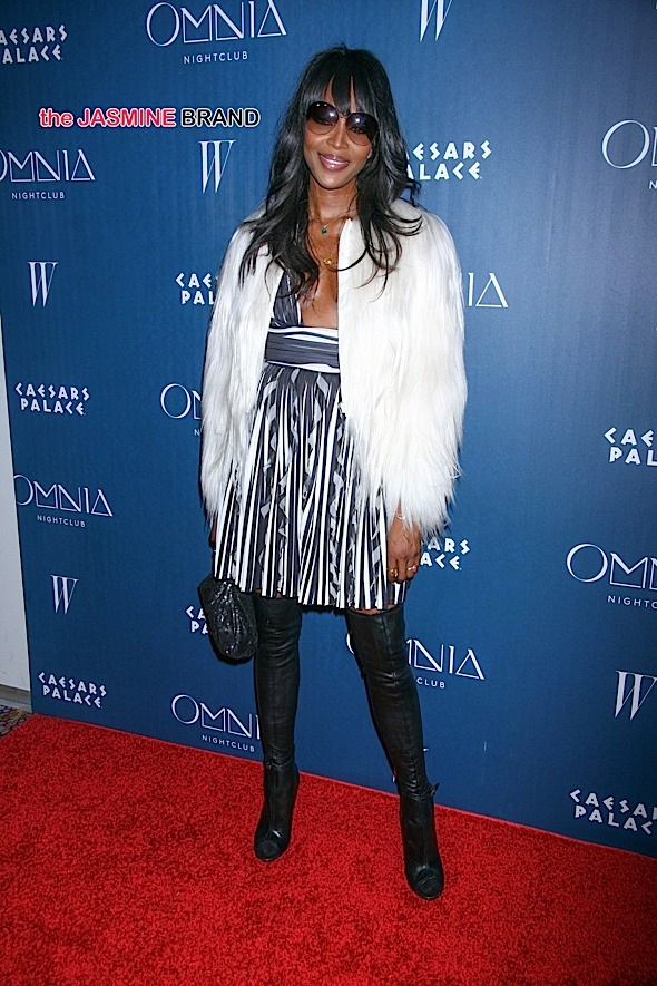Naomi Campbell Kicks-off Omnia Nightclub's Grand Opening Weekend with a DJ Set on April 24, 2015