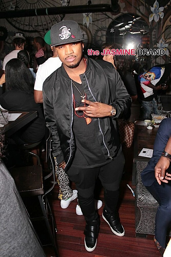 neyo-terrence j-bowling birthday party-the jasmine brand