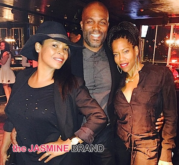 #50ShadesOfBill: Bill Bellamy Celebrates 50th Birthday: Nia Long, Larenz Tate, Cookie & Magic Johnson, Tommy Davidson & More Attend! [Photos]