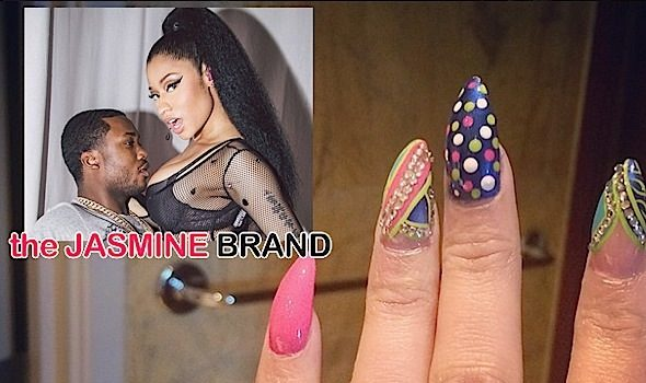 [UPDATE] Nicki Minaj Debuts Rumored Engagement Ring From Meek Mill??!! [Photos]