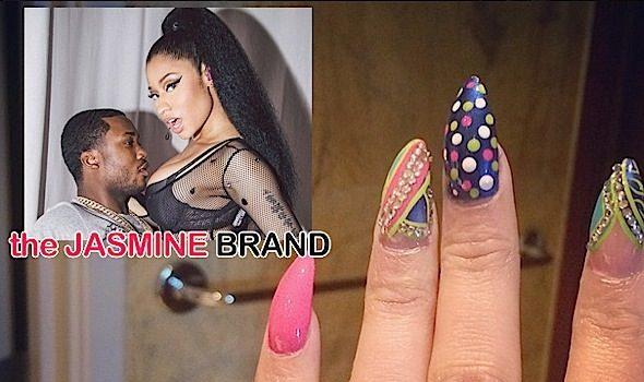[UPDATE] Nicki Minaj Debuts Rumored Engagement Ring From Meek Mill??!! [Photos]