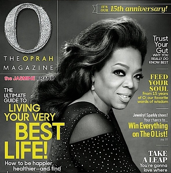 Oprah Goes Hollywood Glam For 15th Anniversary of O Magazine [Photos]