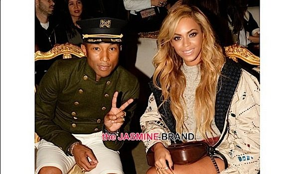 Beyonce, Pharrell Attend Chanel's Métiers d'Art New York Show [Photos]