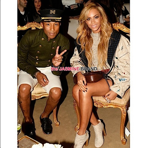 pharrell-beyonce-CHANEL Metiers dArt Fashion Show in NYC-the jasmine brand