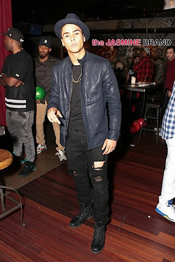 quincy-terrence j-bowling birthday party-the jasmine brand