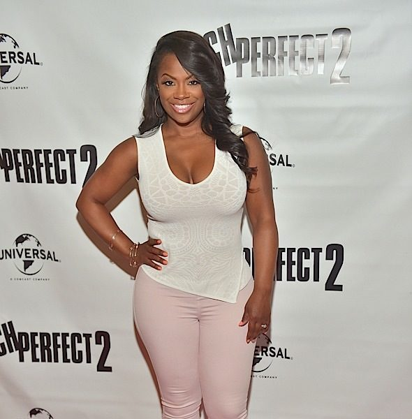 Kandi Burruss Dishes On The Fed's Visit For Apollo Nida's Things [VIDEO]