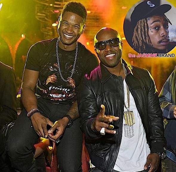Wiz Khalifa, Usher Shade Exes In Rico Love's 'Somebody Else' Remix [New Music]
