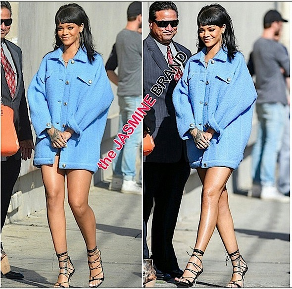 rihanna heads to jimmy kimmel live-the jasmine brand