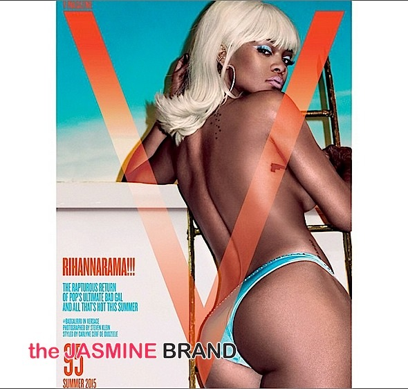 Topless & Haute! Rihanna Poses For 'V Magazine' [Photos]