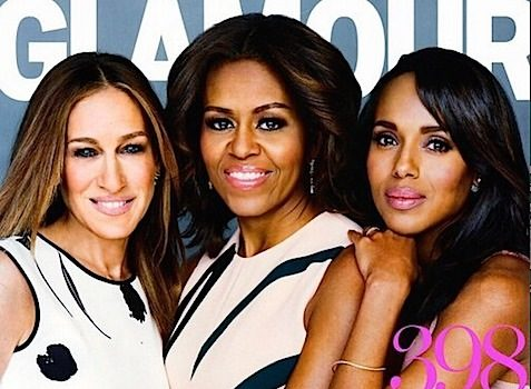 Sarah Jessica Parker, FLOTUS & Kerry Washington Share 'Glamour' Cover + Columbus Short Creating Gospel 'Empire' Show [Photo]