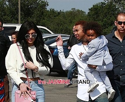 Future Step-Mama! Kylie Jenner Brings Tyga & His Son to Church + Kardashian Clan Attend [Photos]