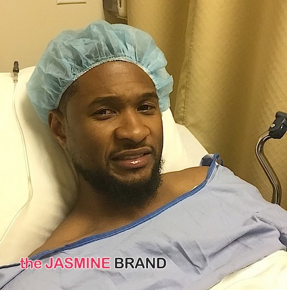 Usher Raymond Recovers From Surgery [VIDEO]