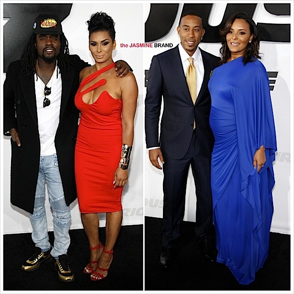 'Furious 7' LA Premiere: Ludacris, Tyrese, Dwyane Johnson, Juicy J, Wale, Grace Gealey, Laura Govan, Erica Mena, Bow Wow [Photos]