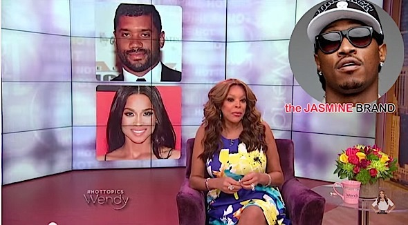Wendy Williams Calls Ciara & Russell Willson Relationship a PR Stunt, Future Could Care Less + Amber Rose & Machine Gun Kelly's Lunch Date