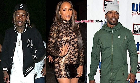 Celebrity Stalking: Vivica Fox, Wiz Khalifa, Laverne Cox, Michael B. Jordan, Jamie Foxx, Dwayne Johnson [Photos]