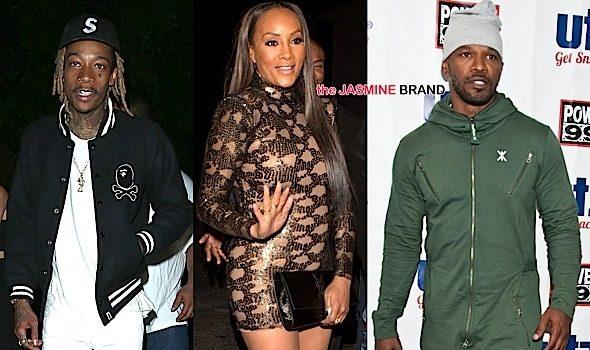 Celebrity Stalking: Vivica Fox, Wiz Khalifa, Laverne Cox, Michael B. Jordan, Jamie Foxx, Dwayne Johnson [Photos]