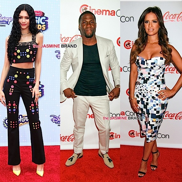 Celebrity Stalking: Zendaya, Karrueche, Kevin Hart, Rocsi Diaz, Naomi Campbell, Cara Delevingne [Photos]