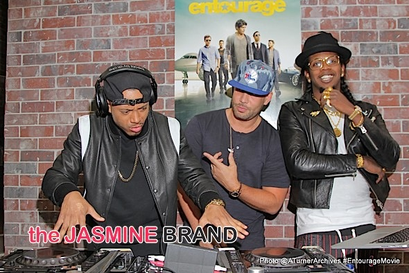 Terrence J, DJ Drama, Trinidad James