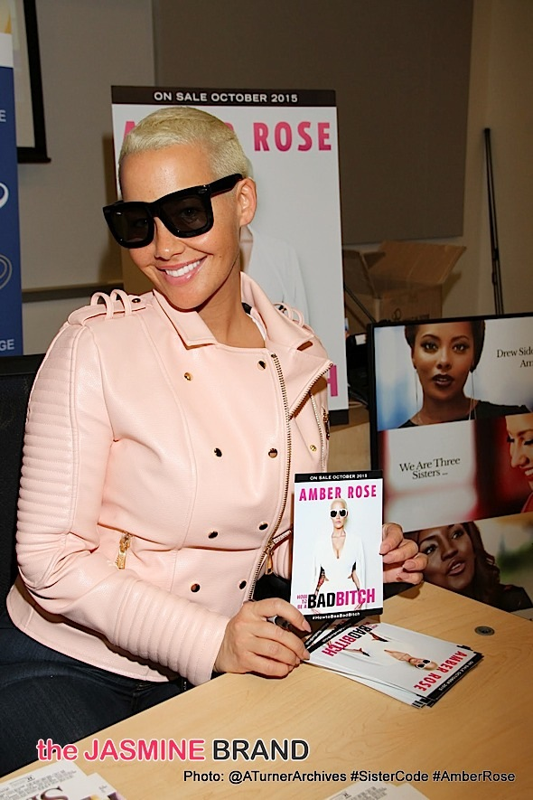Amber Rose Speaks to Students at West LA College