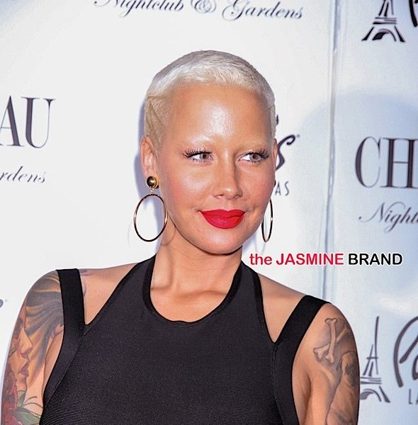 Amber Rose Hits Las Vegas' Chateau Nightclub [Photos]