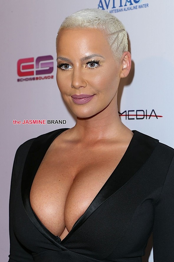 Amber Rose Contemplating Breast Reduction