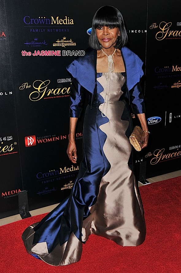 Cicely Tyson attends the 40th Anniversary Gracies Awards in Beverly Hills