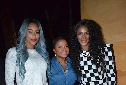 Phaedra Parks, Tami Roman, Momma Dee Spotted Hosting ATL Talent Show [Photos]