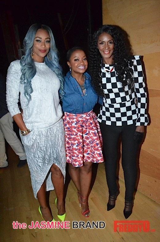 Tami Roman, Phaedra Parks, Momma Dee